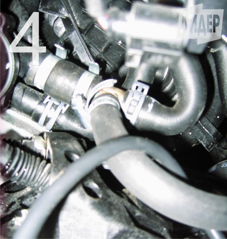 установка подогревателя двигателя на фольксваген поло